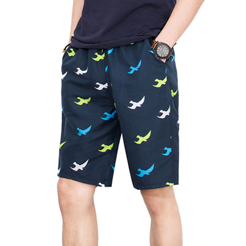Welcome Eyelash Mens Beach Shorts Swimming Trunks Dry Fit Board Shorts with Mesh Lining