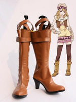 Tiger & Bunny Karina LyleBlue Rose Cosplay Boots Shoes Anime Party Cosplay Boots Custom Made Women Shoes