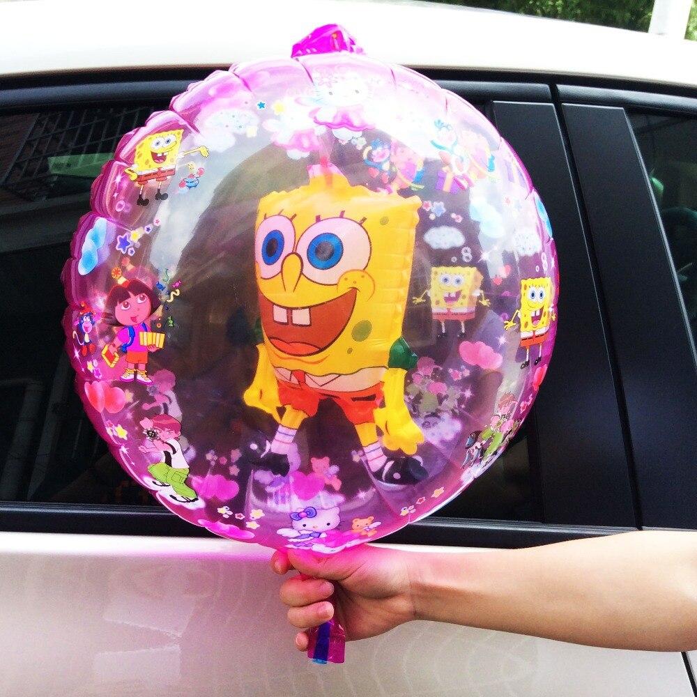 aire caliente inflable de bob esponja globo de la hoja unidslote ballon para