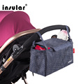 New Style Insular Waterproof Baby Diaper Bag Mommy Bag Liner Multifunctional Stroller Bags Separated Nappy Bag Shipping Free