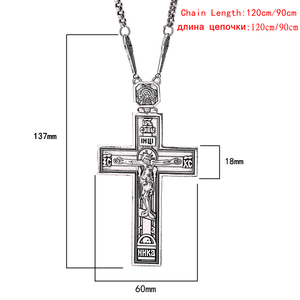 Image 3 - Shamty Herrlichkeit König Jesus Kreuz Kette Alte Silber Rose Gold Farbe Christentum Anhänger Halskette Schmuck Christian Artikel Geschenk