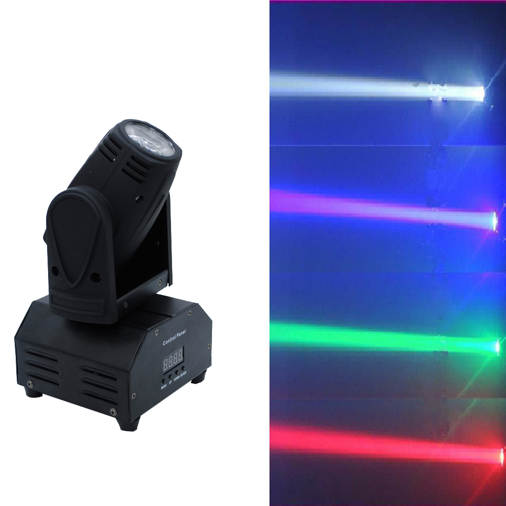 2xLOT Led Stage Lights 10W 4in1 RGBW Mini Moving Head Spot Wash Light DMX DJ Disco Par Laser Projector Sound Party Club Lighting 2xlot 2016 led par can 7x10w rgbw 4in1 quad color mini par led dmx dj disco stage lights 70w moving head strobe effect projector