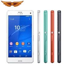 "Sony Xperia Z3 Compact D5803 разблокированный GSM четырехъядерный 4,"" 2 Гб ОЗУ 16 Гб ПЗУ LTE wifi gps 2600 мАч Android смартфон"