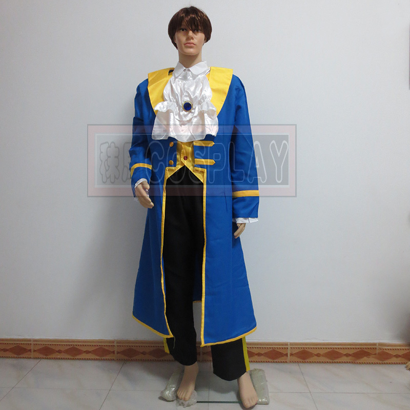 Beauty And The Beast Cosplay Costume Prince Adam Cosplay Costume