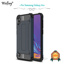 For Samsung Galaxy A10 Case Shockproof Armor Rubber Hard Phone Cover A30 A50 Fundas