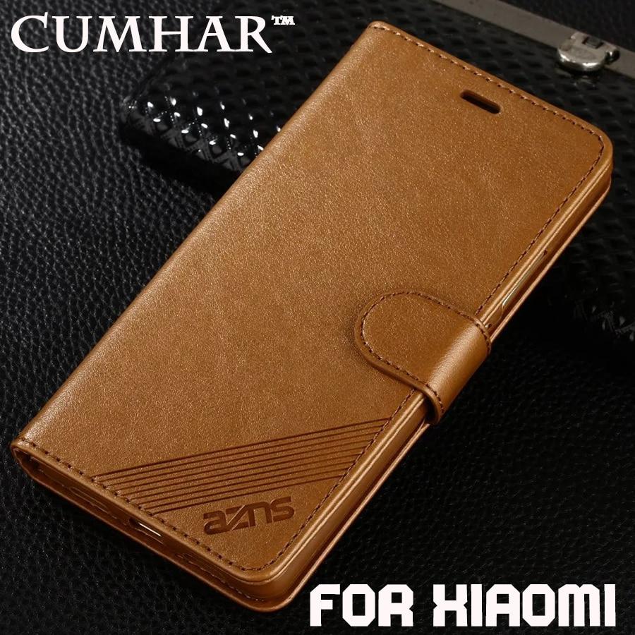 Wallet Flip Leather for Xiaomi Redmi S2 5 Plus 6 6A Pro Case TPU for Xiomi Mi 8 SE A1 5X 6X 6 5A Note 5 4 4X Max 2 3 Cover Max3