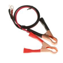 2 шт. 50A клемма аккумулятора крокодил зажим для кабеля крокодил автомобиля зажимы батареи для автомобиля клеммы аккумулятора черный+ красный