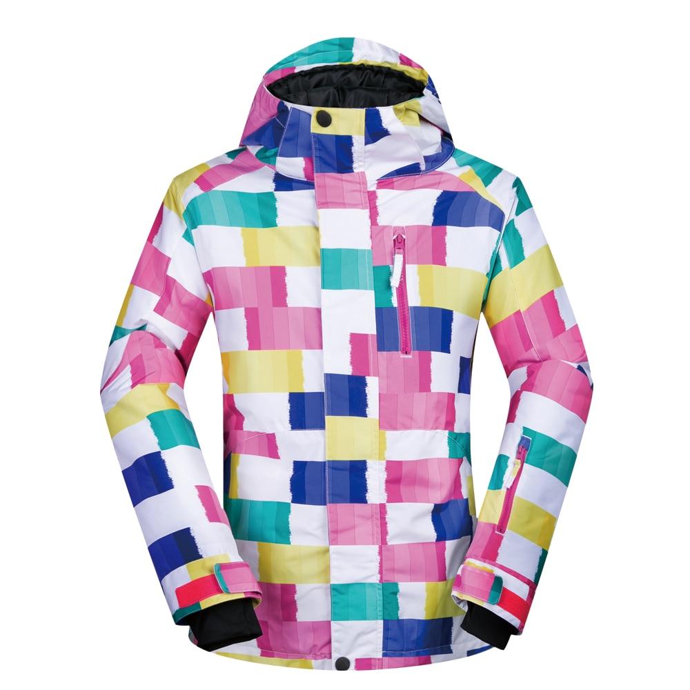 Veste de Ski femme hiver coupe-vent imperméable respirant chaud CK vêtements de Ski manteau de neige femme Ski et Snowboard veste marques