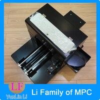 УФ облегчение чехол для телефона печати DIY Металл Кристалл футболка кожа тиснения/тиснение A4 Универсальный плоской Панель принтер L800
