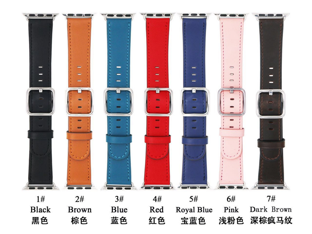 Classic leather designs with magnetic or stainless steel closures Band for Apple Watch 42mm & 38mm цена