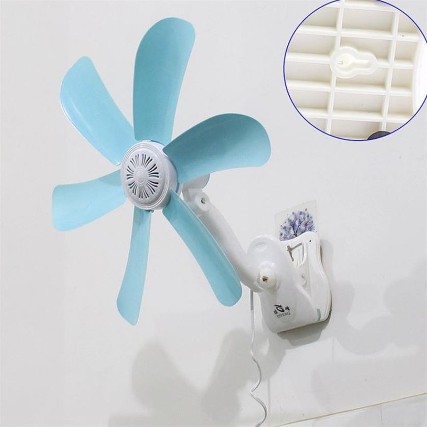 2018 Hot Quiet 5 Leaves Electric Clip Fan Breezer Cooler Stroller Fans Electric Fan Multifunction Wall Hanging Table Folder Fan