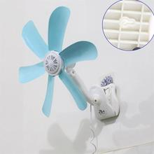 2018 Hot Quiet 5 Leaves Electric Clip Fan Breezer Cooler Stroller Fans Electric Fan Multifunction Wall hanging Table Folder Fan цена и фото