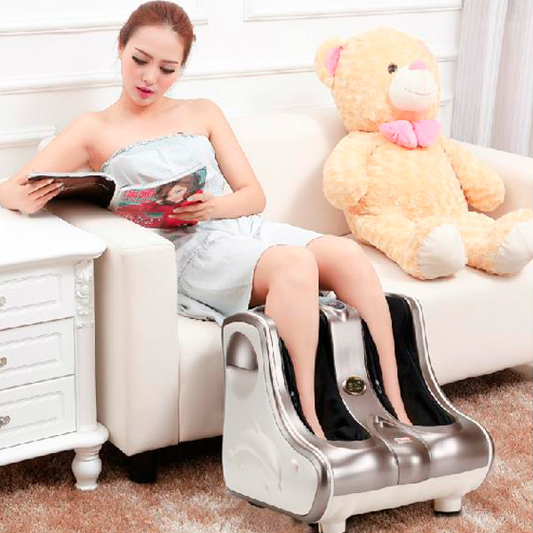2017 New Massager Foot Shiatsu Massage Square Heated Electric Foot Massage Device Reflexology Foot Leg Machine free shipping for foot machine foot massage device electric roller heated leg medialbranch foot massage equipment