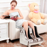 2017 New Massager Foot Shiatsu Massage Square Heated Electric Foot Massage Device Reflexology Foot Leg Machine