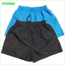 Новые быстросохнущие тонкие шорты, мужские летние полиэфирные теннисные шорты для спортзала, бадминтона, настольного тенниса