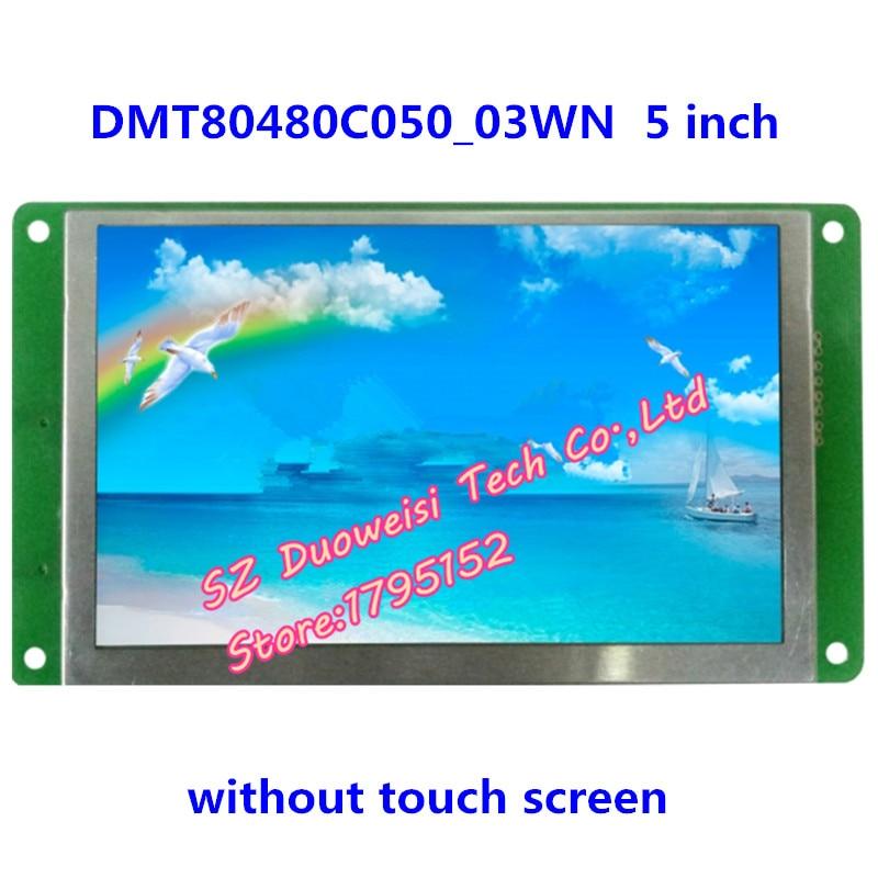 DMT80480C050_03WN 5-inch display screen DGUS serial LCD non-touch screen LCD moduleDMT80480C050_03WN 5-inch display screen DGUS serial LCD non-touch screen LCD module