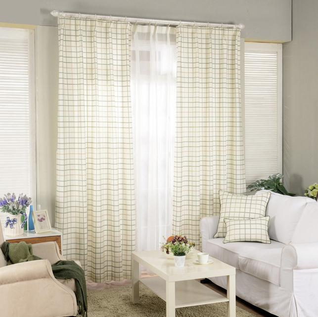 Online Buy Wholesale plaid window curtains from China plaid window ...