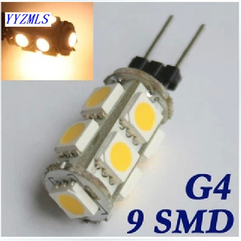Free shipping 2W 12V g4 led lamp Replace 20W halogen g4 lighting 360 Beam Angle home boat rv light warranty 2 years