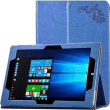 Caso de la Cubierta de Calidad superior Para CHUWI Hi10 Plus 10.8 pulgadas Tablet PC de Lujo Estampado de Flores Caja De Cuero Para chuwi hi10 plus + Stylus
