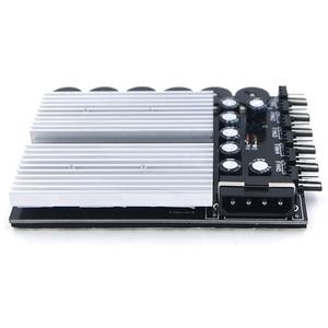 Image 2 - En Labs 6 ช่อง 3 pin 4 pin คอมพิวเตอร์ CPU Cooler พัดลมควบคุมความเร็ว w/ยางได้รับการสนับสนุนแตะสำหรับ PC กรณีภายใน & Mining