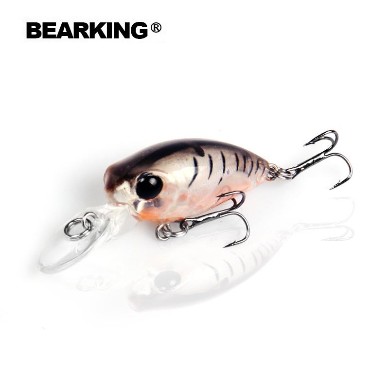 Excellent 2017 hot model Bearking fishing lures, 12 colors for choose, minnow crank  32mm 2.7g, fishing tackle hard bait retail fishing lures assorted colors minnow crank 80mm 5 5g 2017 hot model crank bait 3d eyes artificial lures zb26