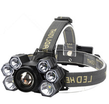 30W USB Rechargeable Headlight  Headlamp T6 LED Head Lamp Flashlight Torch Head Light Lantern 18650 Battery цена в Москве и Питере