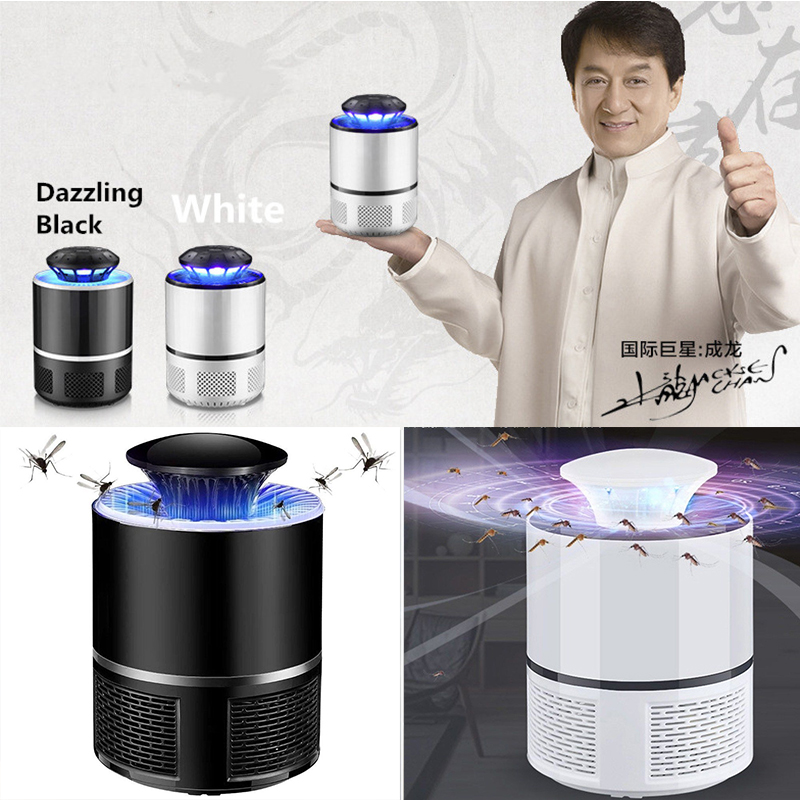 USB Electric UV Mosquito Eiller Lamp Ehotocatalytic Eute Eome LED Bug Zapper Lure Insect Trap Radiationless Mata Anti Mosquito-in Mosquito Killer Lamps from Lights & Lighting