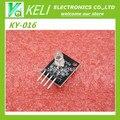 Бесплатная Доставка 10 шт. FZ0455 4pin КИЗ KY-016 Три Цвета 3 цвет RGB LED Модуль Датчика для Arduino DIY Starter Kit KY016