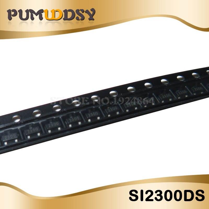 SI2399DS-T1-GE3 20V VDS 12V VGS SOT-23 Pack of 100 MOSFET