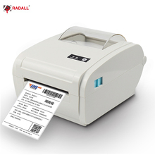 New Arrival Thermal Label Printer 110mm A6 Shipping Logistic  Barcode Maker USB/Bluetooth Auto Peeling Portable Printer RD-9210