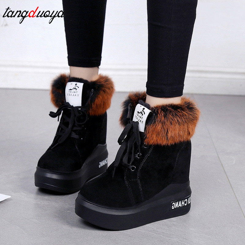 platform boots women high heel winter boots women warm winter botas mujer 2018 ankle boots women wedge platform shoes womens winter shoes ankle boots women bota feminina botas mujer botines mujer 2017 ladies platform wedge boots botas de neve