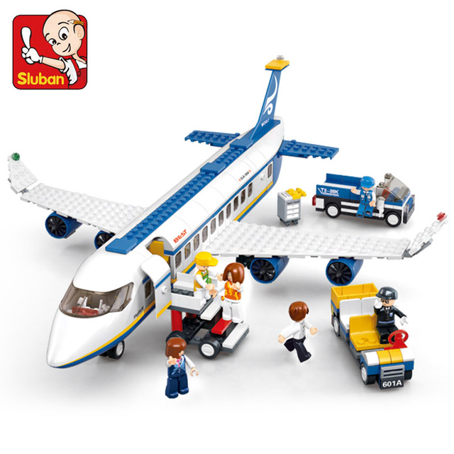 463Pcs City International Airport Airbus Aircraft Airplane Compatible LegoINGs Plane Building Blocks Sets Figures Bricks Toys