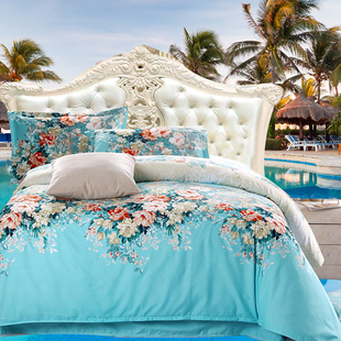 2015 new free shipping yellow plant flower print bedding set 27 2015 new free shipping yellow plant flower print bedding set 27 types 4pcs bedclothes duvetcomforterquilt cover bed linen sets in bedding sets from home mightylinksfo