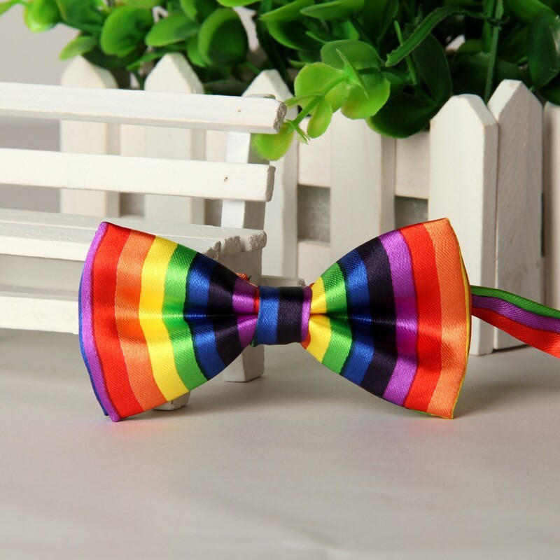 SHENNAIWEI 2016 High-end Children Butterfly Cravat Rainbow Multicolor Children's Bow Tie Cute Festivity Cravat Lots