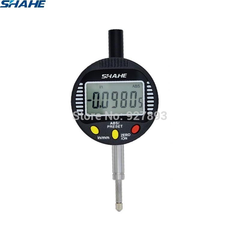 0 10 mm digital dial indicator dial gauge measuring gauge electronic digital indicator 0 001 mm