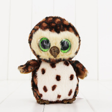 15cm Ty Beanie Boos Big Eyes Plush font b Toy b font Doll Colorful Owl TY