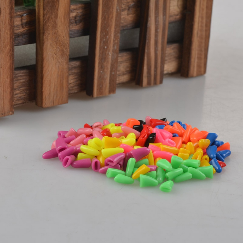 20pcs / Lot Hot Colorful Bright Interesting Pet Cat Dog Nail Plastic Claw Care Size Xs S M L New