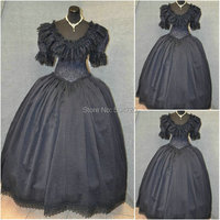 sc 611 Victorian Gothic/Civil War Southern Belle loose Ball Gown Dress Halloween Vintage dresses Custom made