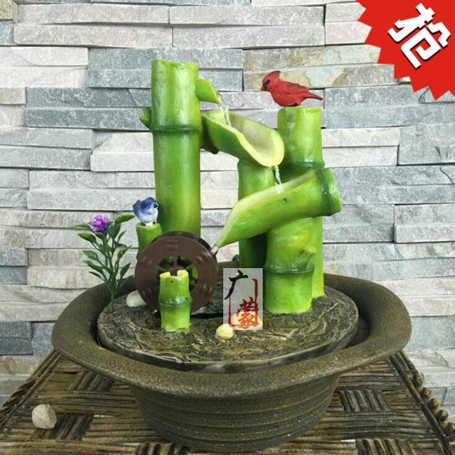 Kleine Bambus Wasser Bonsai Eingerichtet Heimtextilien Buro Computer