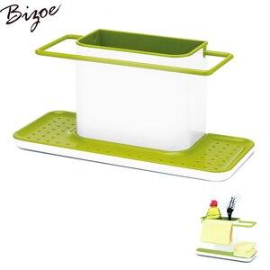 Самоосушитель для раковины Органайзер Щетка Ткань для очистки и губка держатель для кухонного хранения сушилка черный зеленый