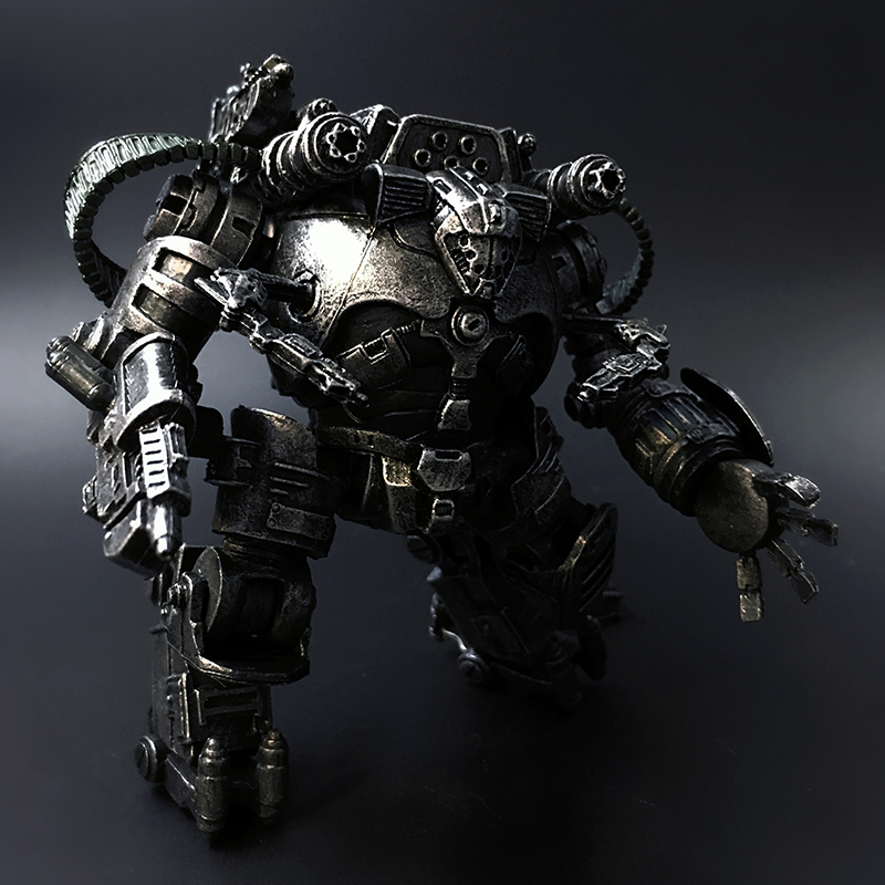 "JOYTOY 1/27 anime figures Mecha Robot ""THE DESTROYER MECHA""military model toys Free shipping"