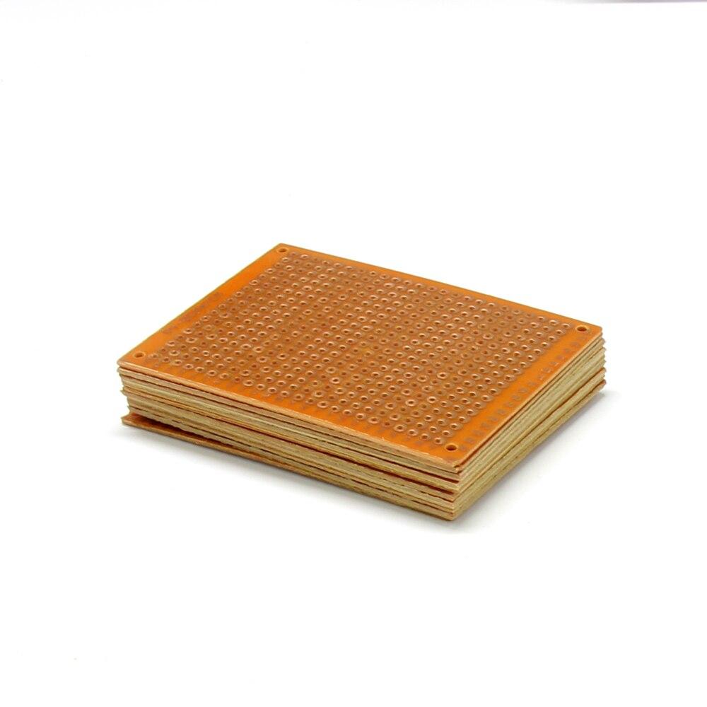 10pcs Prototype Paper Copper Pcb Universal Experiment Matrix Circuit Diy Board 17 1 8 10 4