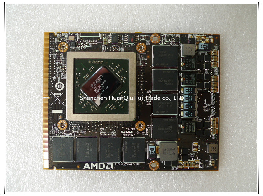 Original graphic card for iMac 27