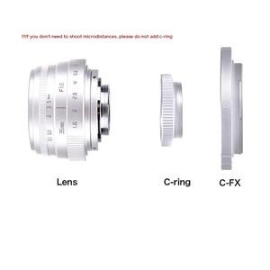Image 4 - fujian 35mm f1.6 C mount camera CCTV Lens II +C mount adapter ring+Macro for Fuji Fujifilm X Pro1 (C FX)
