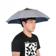 Universale Testa Ombrello Cappello Grande Tappi di Pesca Ombrello Pesca Anti-Uv  Anti-Pioggia 7d31a9fc2245