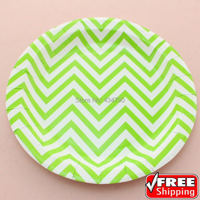 wholesale customized disposable paper plates dinner wedding