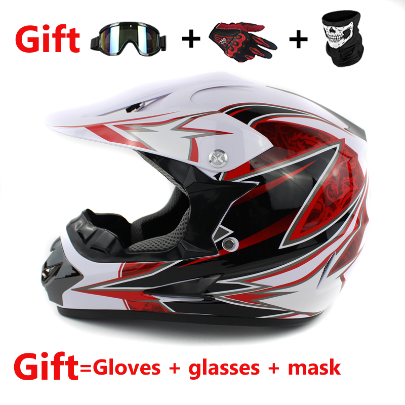 Бесплатная доставка Мотоцикл взрослых Мотокросс Off Road шлем ATV Байк горные MTB DH Гонки шлем Креста capacetes