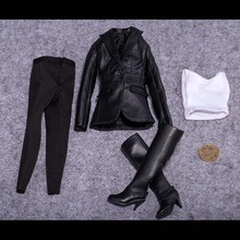 1 6 Scale Phicen font b Figure b font Accessory Female Pitsea Clothes Female Agents Suit