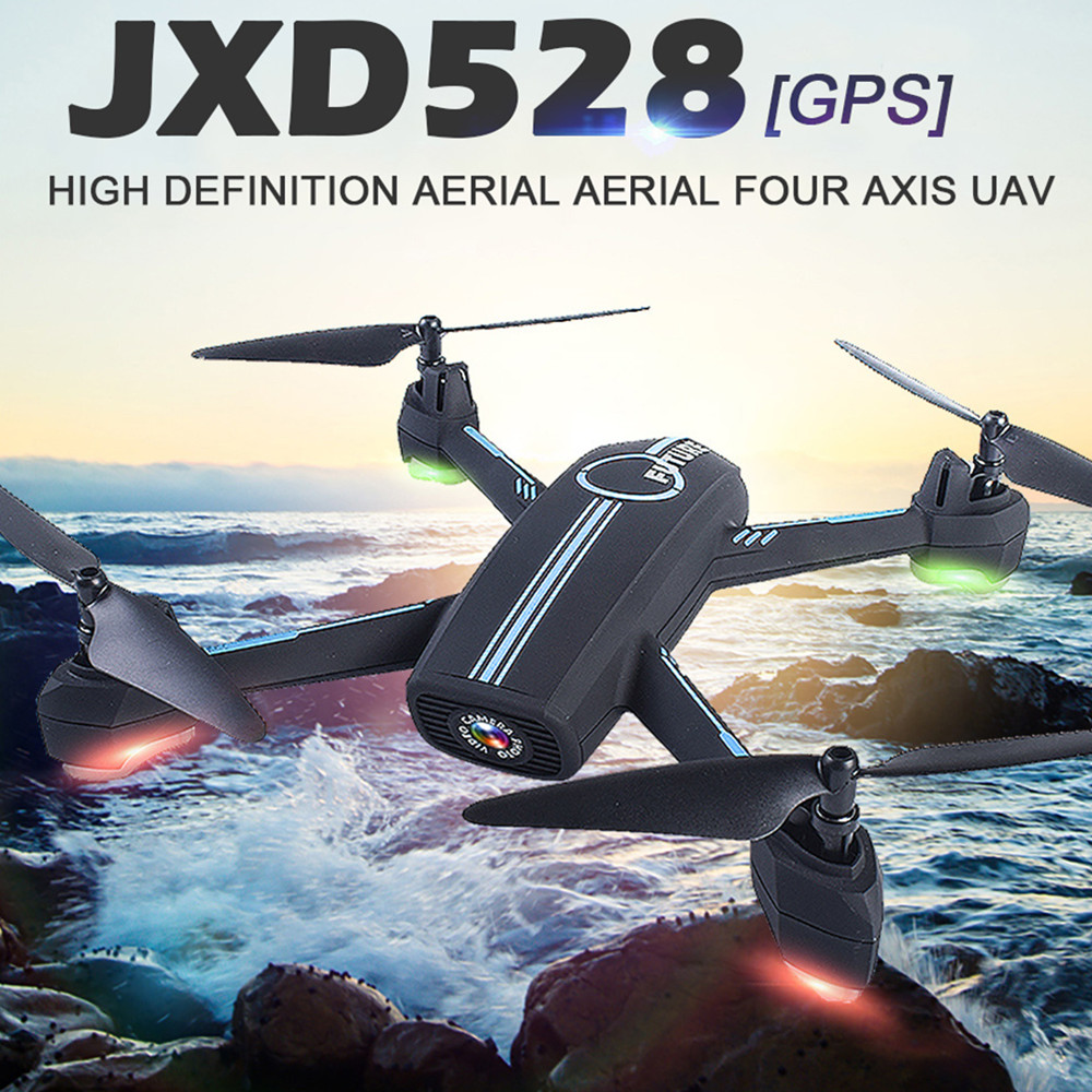 JXD528 GPS RC Drone WIFI FPV RC Quadcopter With 720P HD Camera Follow Me Mode Auto Return APP Control Helicopter Dron VS JXD518