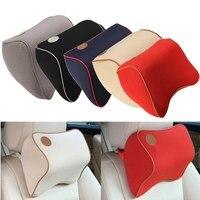 Car Office Seat Headrest Head Neck Rest Cushion Pillow Nursing Waist Memory Foam